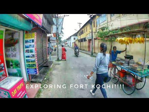 First Motovlog - Exploring Fort Kochi!