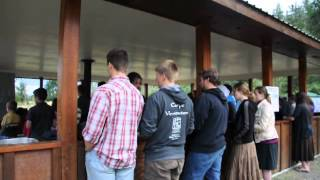 Salve Mater Misericordiae Sung at FSSP Camp in Canada