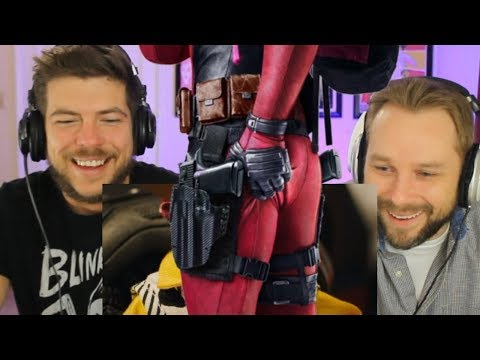 DEADPOOL 2 Trailer Reaction (NEW TRAILER #2 Meet Cable)