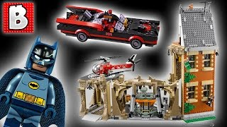Awesome Lego Batcave! Classic Batman TV Series Set 76052 | Unbox Build Time Lapse Review