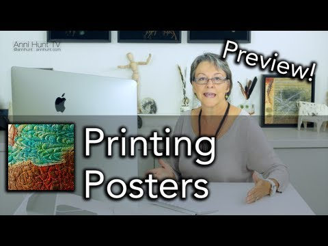 Preview: Printing Posters - AHTV-Ep.NXT01 (HD)