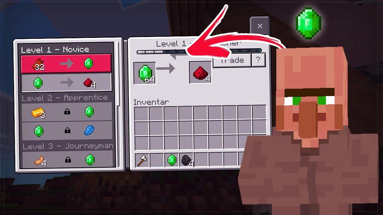MINECRAFT bekommt NEUES Villager Trading! (12.124 Update)