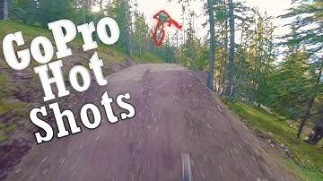 GoPro HOT SHOTS | Bikepark Leogang Full Run Raw with Tricks