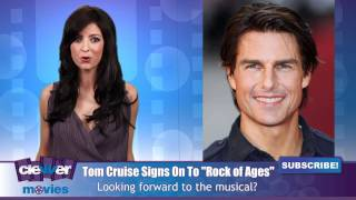 """Tom Cruise Signs On To """"Rock Of Ages"""""""