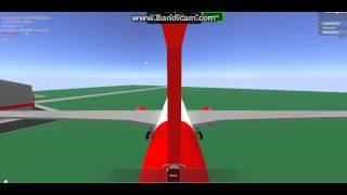 roblox boeing 787 takeoff at roair hq