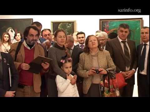Мир уже придуман богом. Открытие выставки армянского художника Фараона Мирзояна в Москве