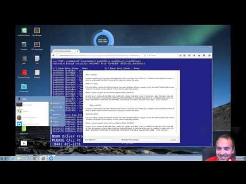 Tech Support Scammer VS ChaletOS Linux