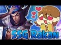NEW SSG Rakan Skin is SO PRETTY! The Most AMAZING Recall EVER! - Ash_on_LoL