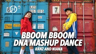 Download Video Bboom Bboom / DNA Mashup Dance | Ranz and Niana MP3 3GP MP4