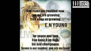"E.N Young ""Never Leave Your Side"" Lyric Video"