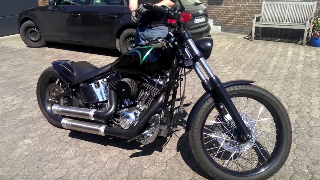 Harley Davidson Softail Deuce Fxstd Starting