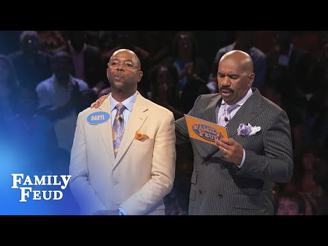Fast Money here we come! | Family Feud