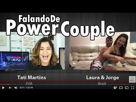 [Entrevista AO VIVO] LAURA e JORGE detonam SÔNIA ABRÃO | Vencedores do POWER COUPLE BRASIL