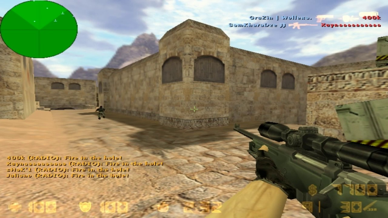 how to change aim in cs 1.6