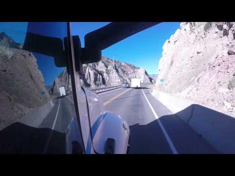 Salt Lake Express Busing through wyoming.