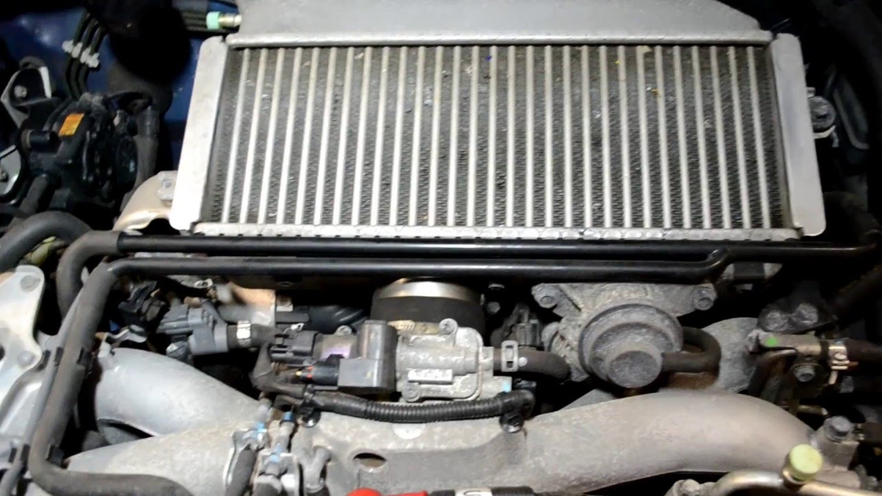 How To Remove An Intercooler On A Subaru Youtube 2 5xt Engine Diagram