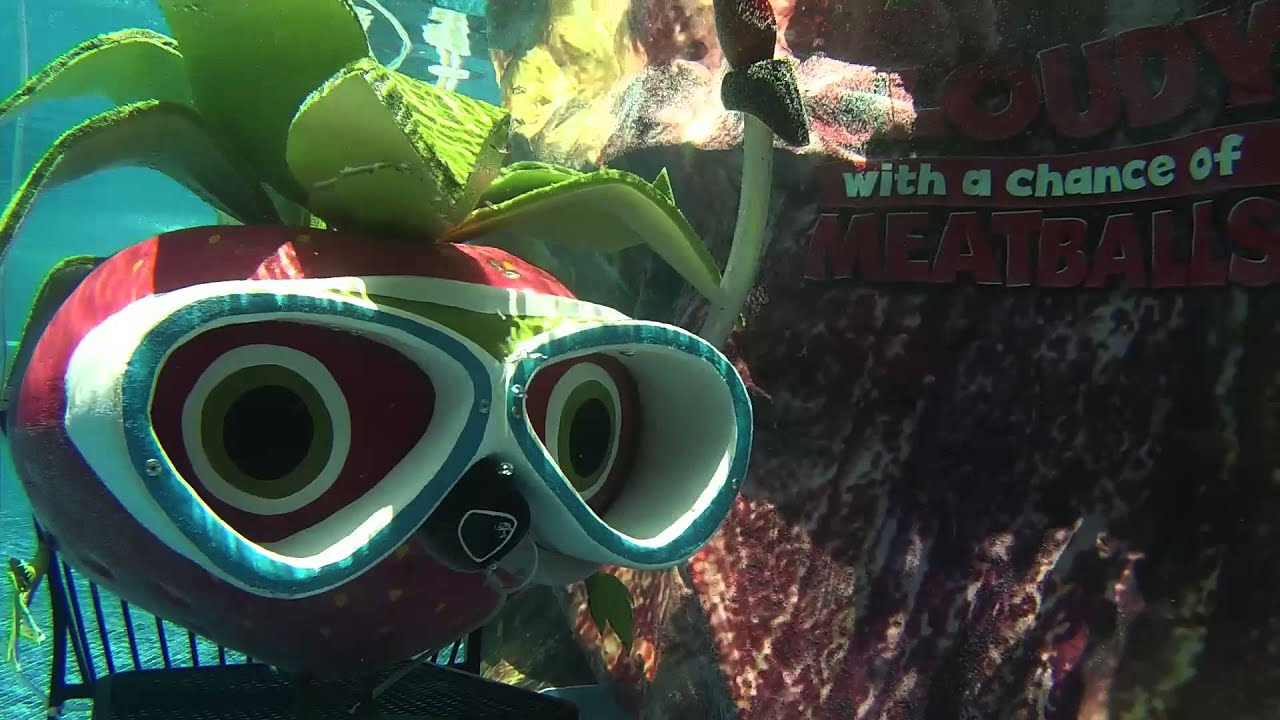 Underwater With Barry From Cloudy A Chance Of Meatballs 2
