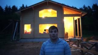 Электрика в доме из клеенного бруса!(, 2016-05-27T06:07:26.000Z)
