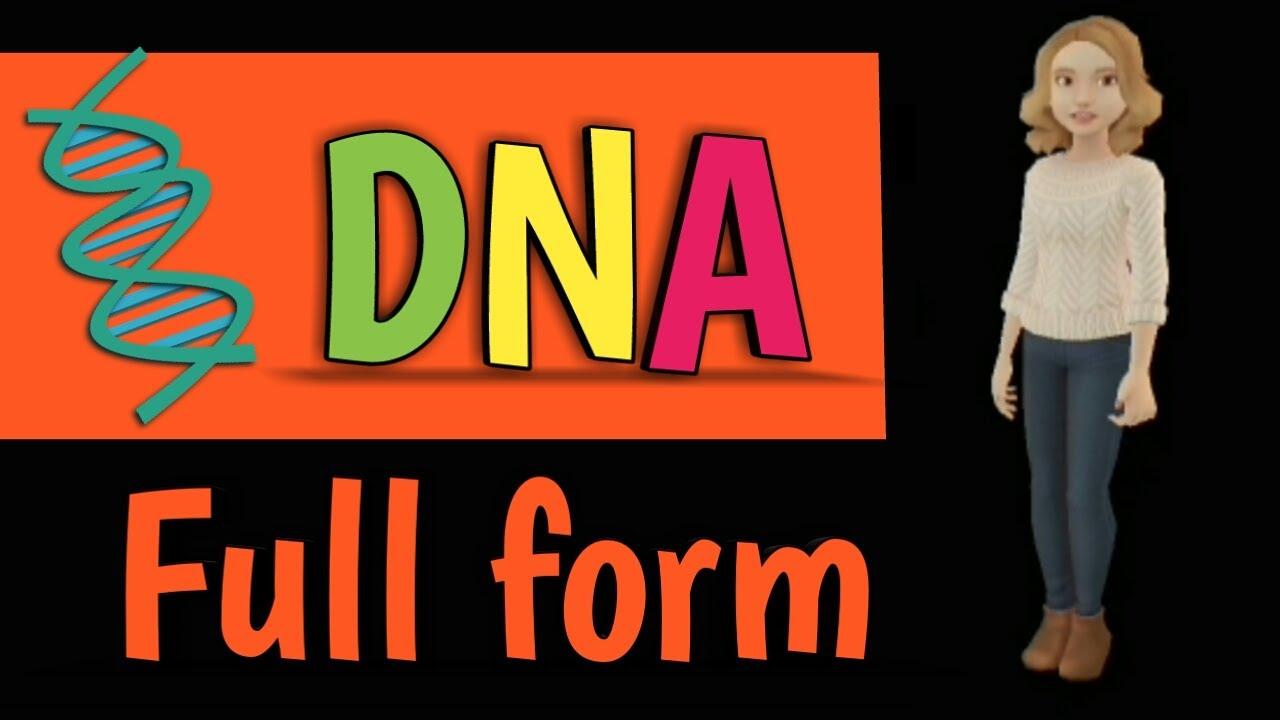 DNA full form - YouTube