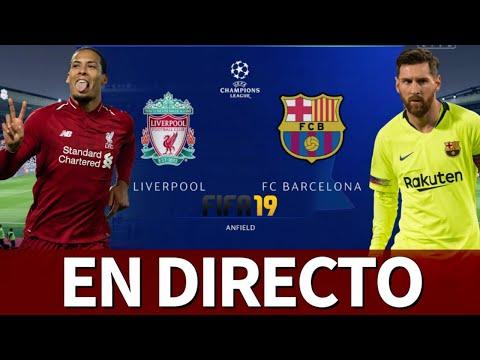 Liverpool vs. Barcelona | FIFA 19: simulación de la vuelta de las SEMIFINALES de Champions League
