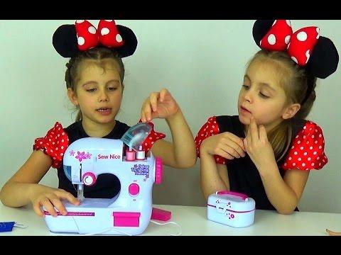Как сшить детской швейной машинкой