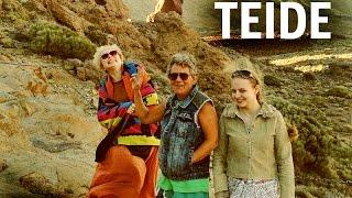 КАНАРЫ: Немецкие автопрогулки по острову Тенерифе... TEIDE TENERIFE CANARY ISLANDS SPAIN