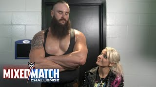 Strowman and Bliss aim to be heads and shoulders above the rest in WWE Mixed Match Challenge thumbnail