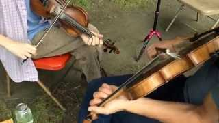 """I Once Loved a Sailor"" (Charlie Poole)  - Jon Bekoff & Nate Paine - Twin Fiddles"