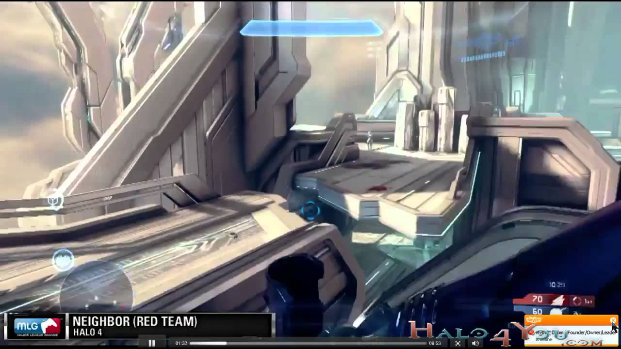 Halo 4 War Games Multiplayer Gameplay on Haven