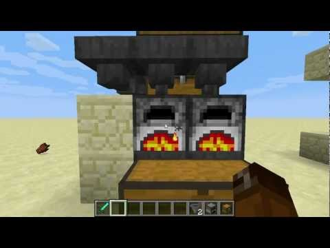 Minecraft Tutorial - Automatic Ore Smelter in Vanilla (1.5 - Redstone Update)
