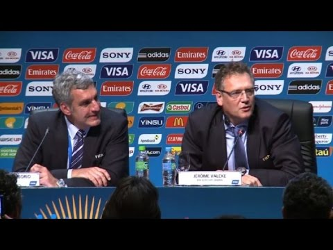 La FIFA cesa a Jérôme Valcke como secretario general