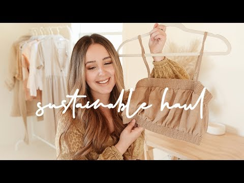A Sustainable & Ethical Clothing Haul *