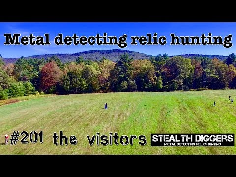 The visitors #201 Metal detecting NH with friends from SDN cellar holes farm fields