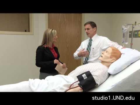 University of North Dakota uses hi-tech mannequins to train health professionals