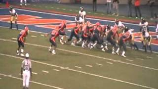 4th and Goal UTEP gets Stopped 2010 Arkansas Pine Bluff