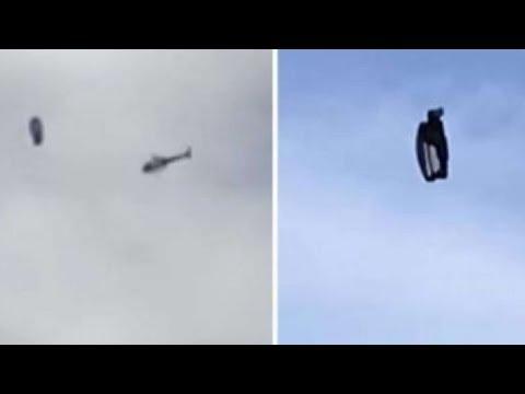 НЛО #46 Загадочная сфера в небе Лос-Анджелеса и вертолёт полиции
