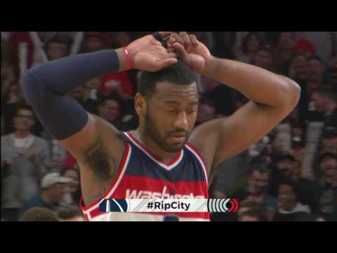 Washington Wizards vs Portland Trail Blazers | March 11, 2017 | NBA 2016-17 Season
