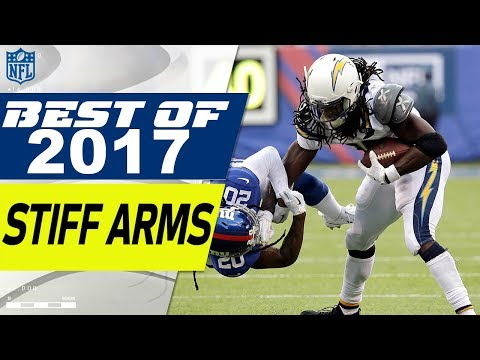 Top Stiff Arms & Power Moves of the 2017 Season! | NFL Highlights