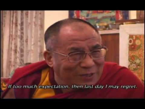 Live with no expectations! - H. H. The Dalai Lama, Rate My Science
