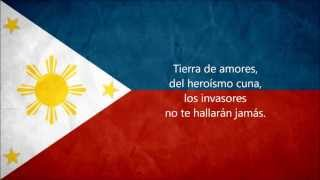The Philippine National Anthem (in Español,English & Tagalog)