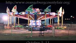 Oct 5 through 11 Orangeburg County Fair, Orangeburg, SC