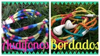 Audifonos Bordados/Embroidered headphones