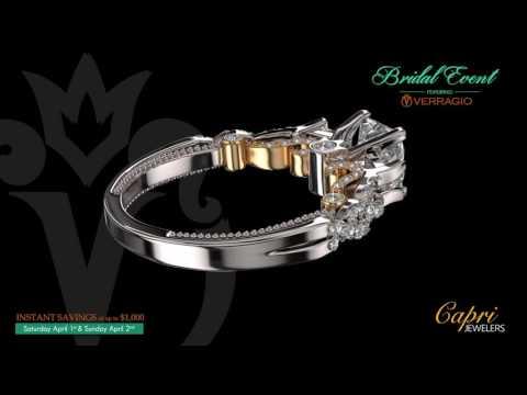 Verragio Bridal Event Capri Jeweler 2017