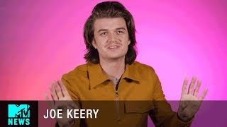 Joe Keery On the Musical Talents of the 'Stranger Things' Cast   MTV News