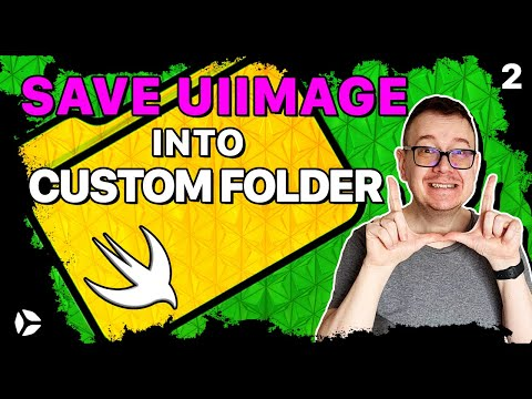 Save UIImage to Custom Folder in Swift 5 (NEW) thumbnail