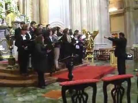 grupo coral de Airão S.João no Sameiro 2ª musica 19 Maio 2013