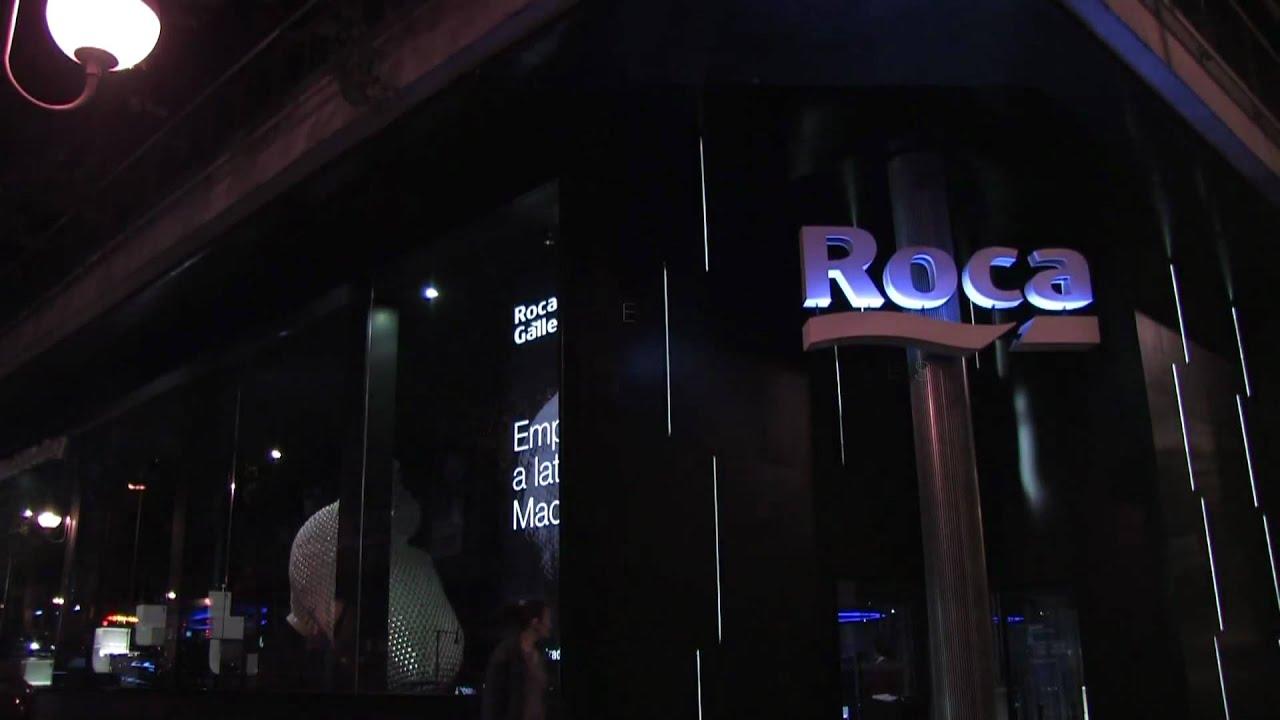 Roca madrid gallery youtube for La roca gallery