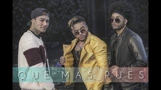 Sech Ft. Justin Quiles - Que Mas Pues Remix - (Coverso Jota Mendoza ft Nobel, Jeovi El Diamante)