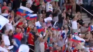 Россия - Швеция. 2 - 1. Гол Широкова.