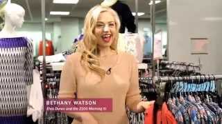 z100's Bethany Watson Shops Century 21 Downtown for iHeart Radio Awards Thumbnail